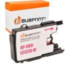 Bubprint Tintenpatrone Magenta kompatibel für Brother LC-1220 / LC-1240