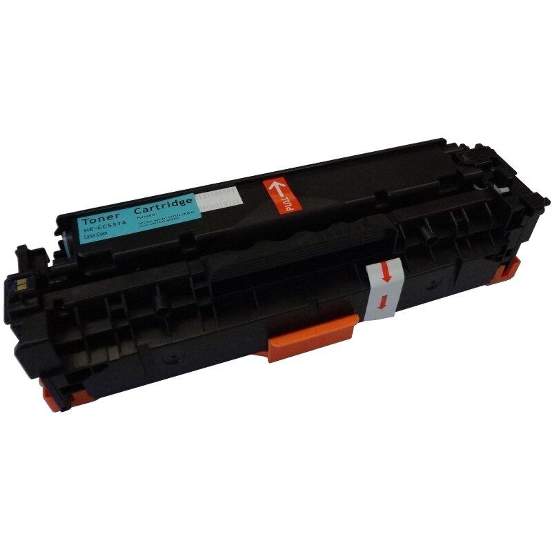 Bubprint Toner Cyan kompatibel für HP CC531A
