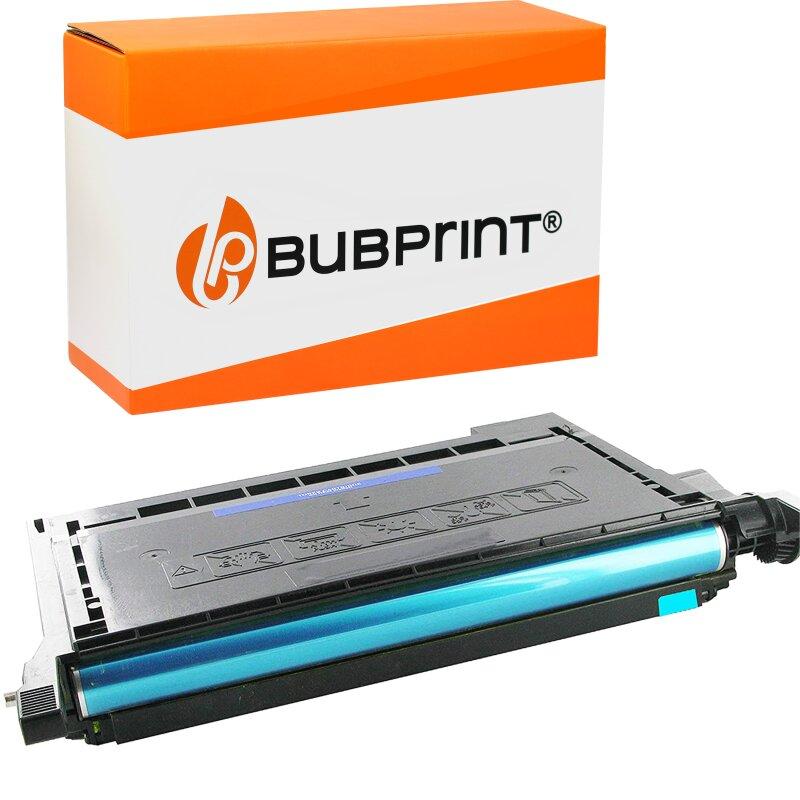 Bubprint Toner Cyan kompatibel für Samsung CLP-620 CLP620