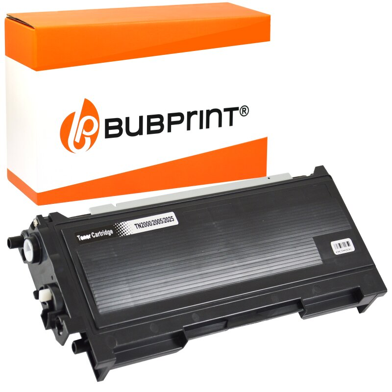 Bubprint Toner Black kompatibel für Brother TN-2000
