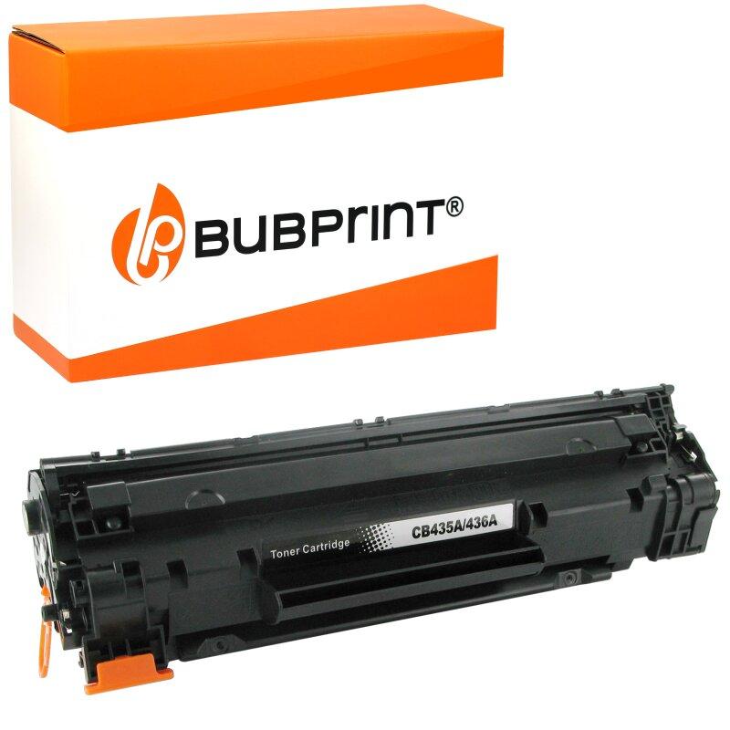 Bubprint Toner Black kompatibel für HP CB435A
