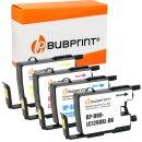 Bubprint 4 Patronen kompatibel für Brother LC-1280...