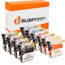 Bubprint 10 Druckerpatronen kompatibel für Brother...