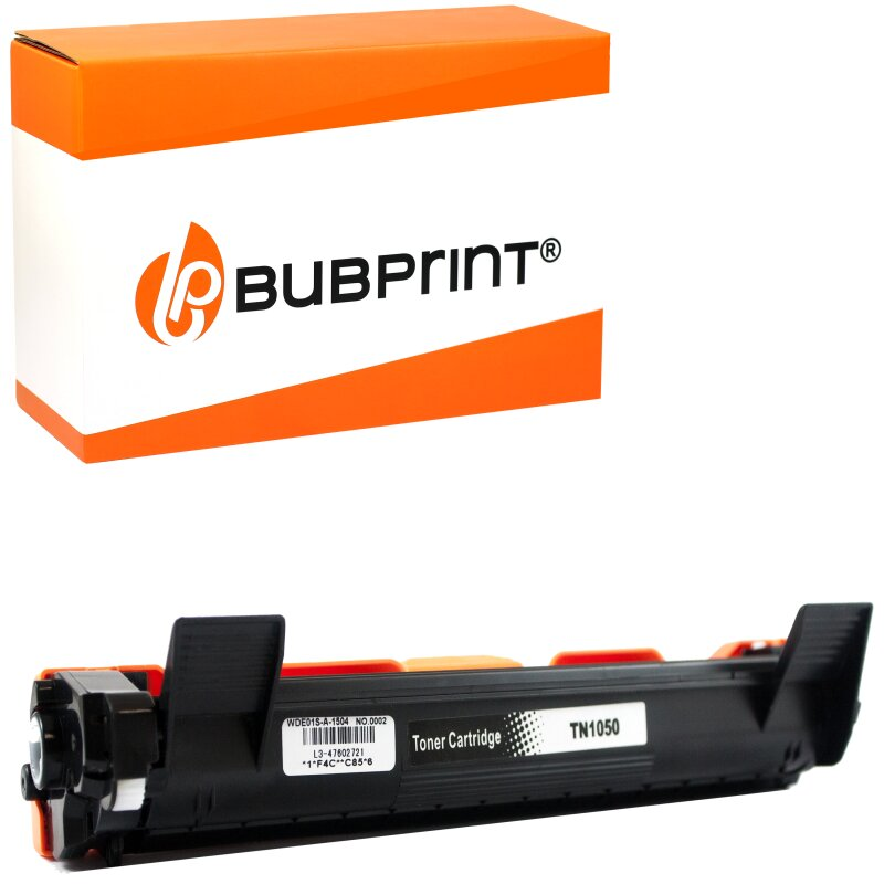 Bubprint Toner XXL kompatibel für Brother TN-1050 HL-1110 DCP-1510 MFC-1910 W schwarz