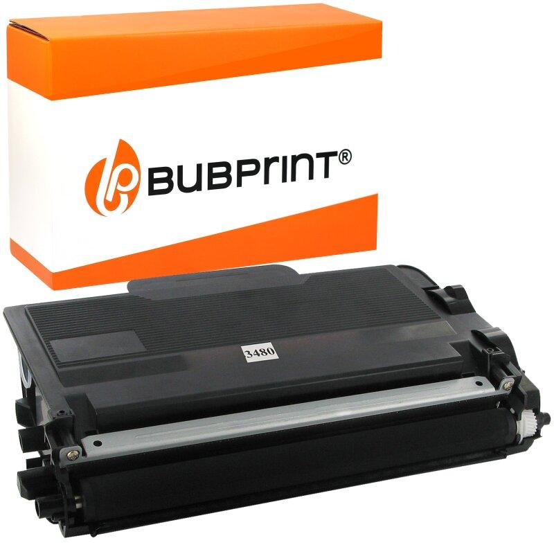 Bubprint Toner-Kartusche kompatibel für Brother TN3480 TN-3480 TN-3430 HL-L5100 HL-L5000 HL-L5200
