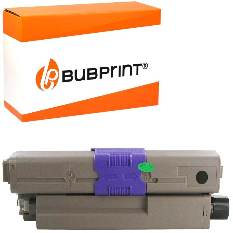 Bubprint Toner Black kompatibel für OKI C310 C330 C510 C530