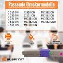 Bubprint Toner Magenta kompatibel für OKI C310 C330...