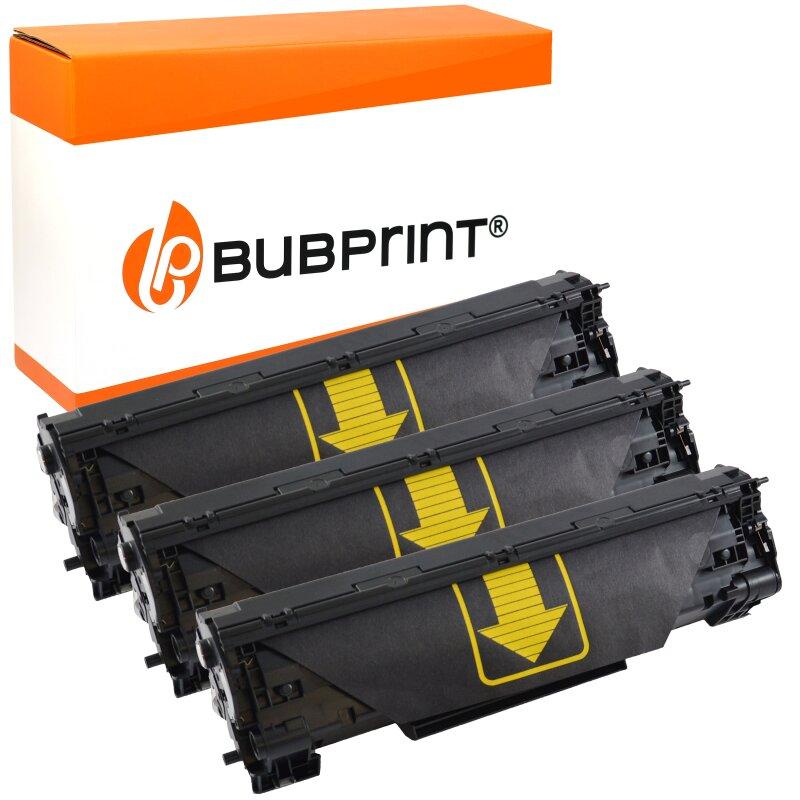 Bubprint 3 Toner black kompatibel für HP CF283A