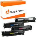 Bubprint 4 Toner kompatibel für HP CE410X CE411A...