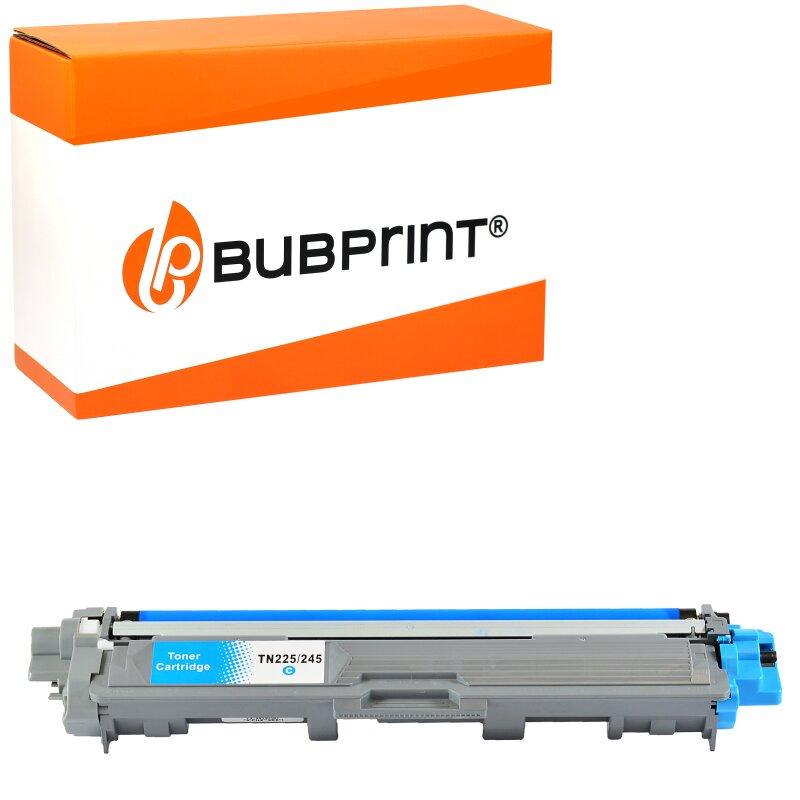 Bubprint Toner cyan kompatibel für Brother TN-245 TN-241 Brother DCP-9020 CDW HL-3170 CDW 3140 CW MFC-9330 CDW 9340 CDW 9130 CW 9140 CDN