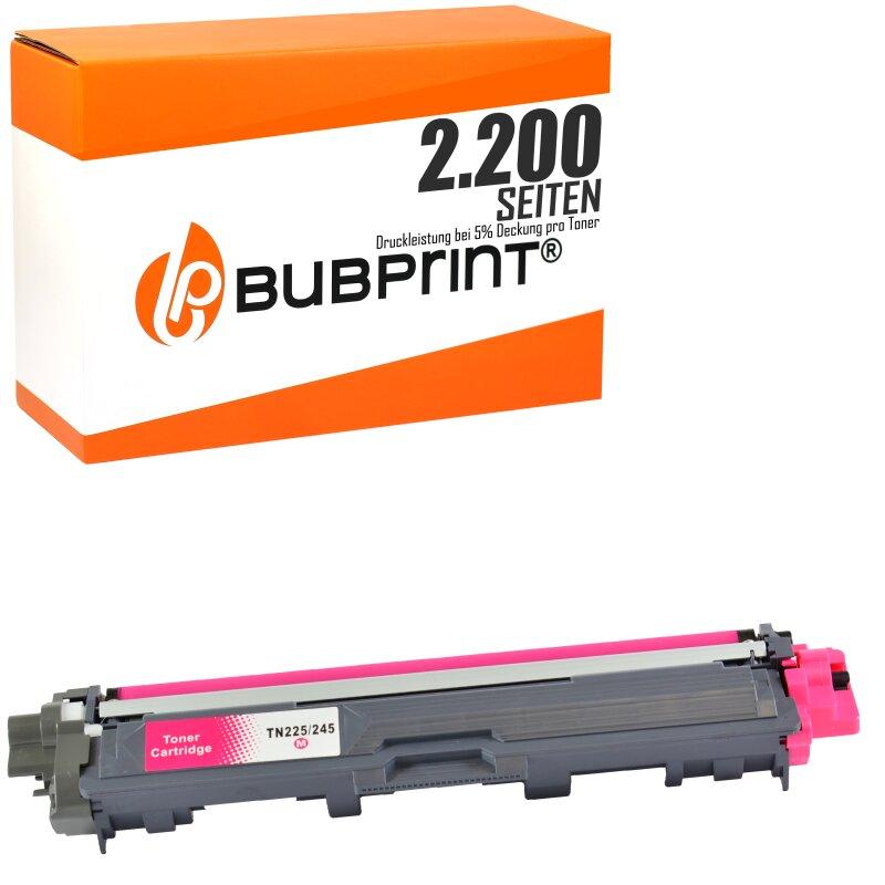 Bubprint Toner magenta kompatibel für Brother TN-245 TN-241 Brother DCP-9020 CDW HL-3170 CDW 3140 CW MFC-9330 CDW 9340 CDW 9130 CW 9140 CDN