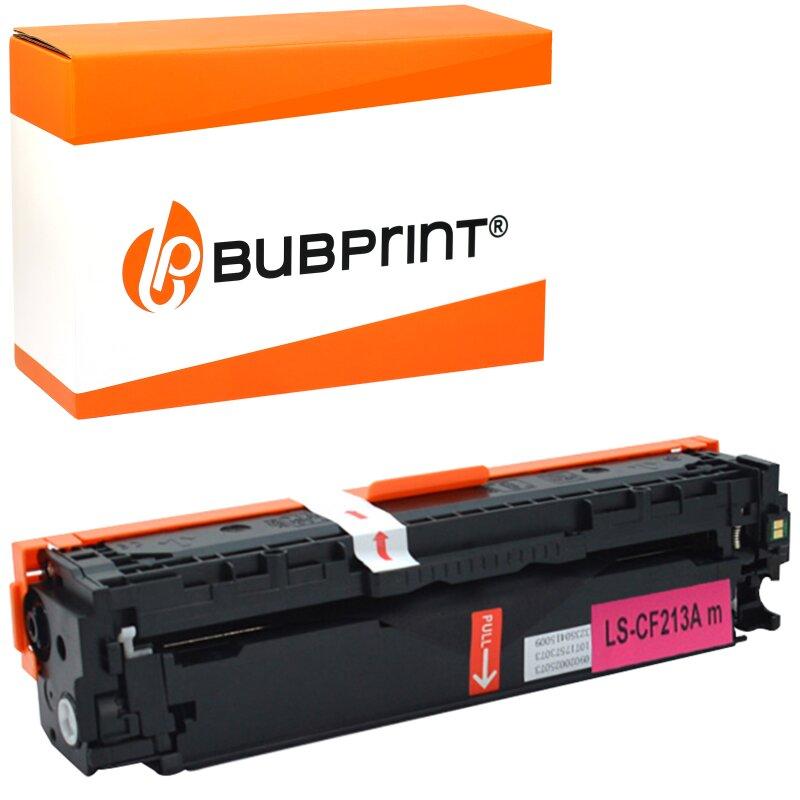 Bubprint Toner magenta kompatibel für HP CF213A 131A