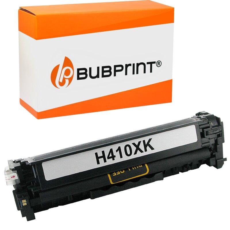 Bubprint Toner black kompatibel für HP CE410X 305X