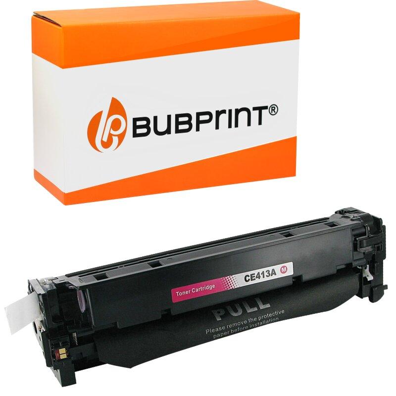 Bubprint Toner magenta kompatibel für HP CE413A 305A