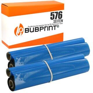 Bubprint Thermotransferrolle kompatibel für Brother PC-72RF PC72RF Set Pack