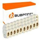 Bubprint 30x Etikettenrolle kompatibel für Dymo...