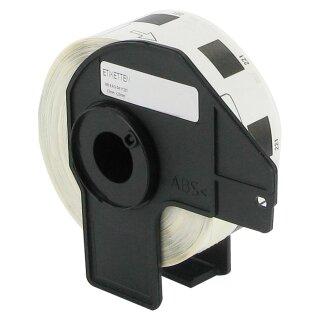 Bubprint Etiketten kompatibel für Brother DK-11221 #1221 23mm x 23mm