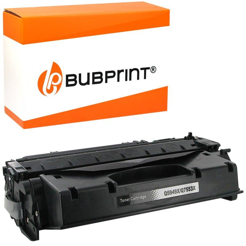 Bubprint Toner black kompatibel für HP Q5949A Q7553A