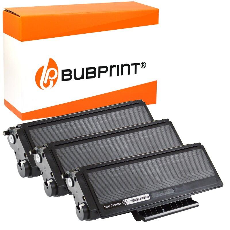 Bubprint 3x Toner kompatibel für Brother TN-3280 black DCP-802 HL-1600