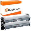 Bubprint 2 Toner black kompatibel für Brother...