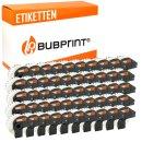 Bubprint 50x Rollen Etiketten kompatibel für Brother...