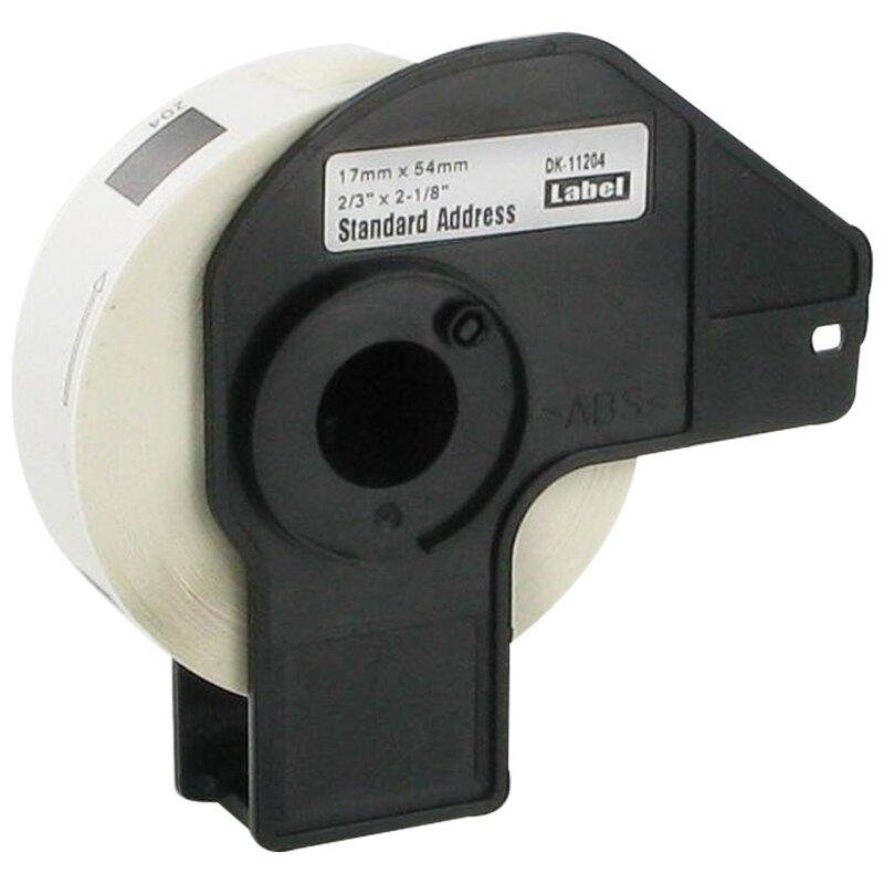 Bubprint Etiketten kompatibel für Brother DK-11204 #1204 17mm x 54mm