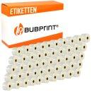 Bubprint 50x Rollen Etiketten kompatibel für Dymo...