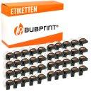 Bubprint 40x Rollen Etiketten kompatibel für Brother...