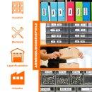 Bubprint 3x Rollen Etiketten kompatibel für Brother DK-22205 #2205 62mmx30,48m
