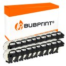 Bubprint 20x Rollen Etiketten kompatibel für Brother DK-22214 #2214 12mmx30,48m