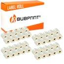 Bubprint 40x Etikettenrolle kompatibel für Dymo...