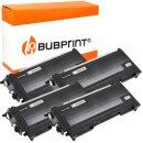Bubprint 4x Toner kompatibel für Brother TN-2005...