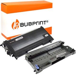 Bubprint Toner kompatibel für Brother TN-2000 black & Drum DR-2000 DR-2005