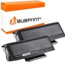 Bubprint 2x Toner kompatibel für Brother TN-3170...