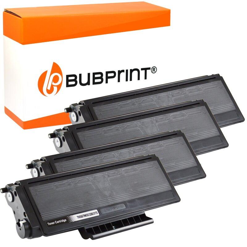 4 Bubprint Toner kompatibel für Brother TN-3170 black DCP-8020 HL-3145