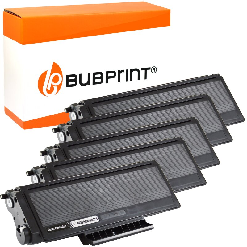 5 Bubprint Toner kompatibel für Brother TN-3170 black DCP-8020 HL-3145