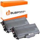 Bubprint 2x Toner kompatibel für Brother TN-2120 UHC...