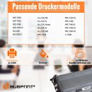 Bubprint 2x Toner kompatibel für Brother TN-2120 UHC (5.200S) black DCP-7030