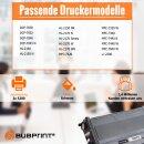 Bubprint 3x Toner kompatibel für Brother TN-2120 UHC (5.200S) black DCP-7030