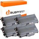 Bubprint 4x Toner kompatibel für Brother TN-2120 UHC...