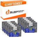 Bubprint 10x Schriftbänder kompatibel für...