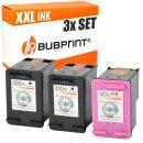 Bubprint 3 Druckerpatronen kompatibel für HP 300 XL...