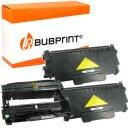 Bubprint 2x Toner und Bildtrommel kompatibel für...