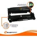 Bubprint 2x Toner und Bildtrommel kompatibel für Brother TN-2320 XXL & DR-2300