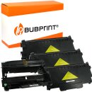 Bubprint 3x Toner und Bildtrommel kompatibel für...