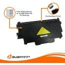 Bubprint 3x Toner und Bildtrommel kompatibel für Brother TN-2320 XXL & DR-2300
