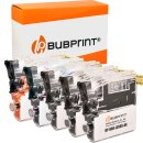 Bubprint 5 Druckerpatronen kompatibel für Brother LC-985  DCP-J125 MFC-J265