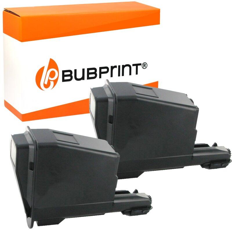 Bubprint 2x Toner kompatibel für Kyocera TK-1115 Black