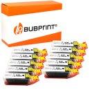 Bubprint 10x Druckerpatrone black kompatibel für...
