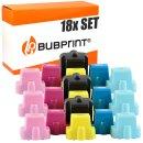 Bubprint 18 Druckerpatronen kompatibel für HP 363